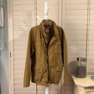 Cargo, pocketed, tan jacket-Sz Lrg Old Navy Men's